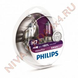 Лампа H7 Philips 55+60% (Vision Plus) 12972VPS2 (2 лампы Н7)