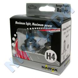 Лампа H4 Narva 110/100 48671 Range Power Rallye Box (2шт.)