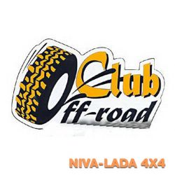 "Наклейка ""Off Road Club"""